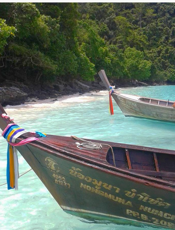 Monkey Beach Phi Phi Tailandia