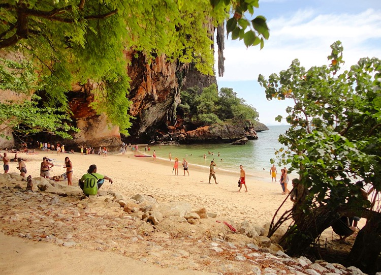 Railay beach Krabi Thailandia