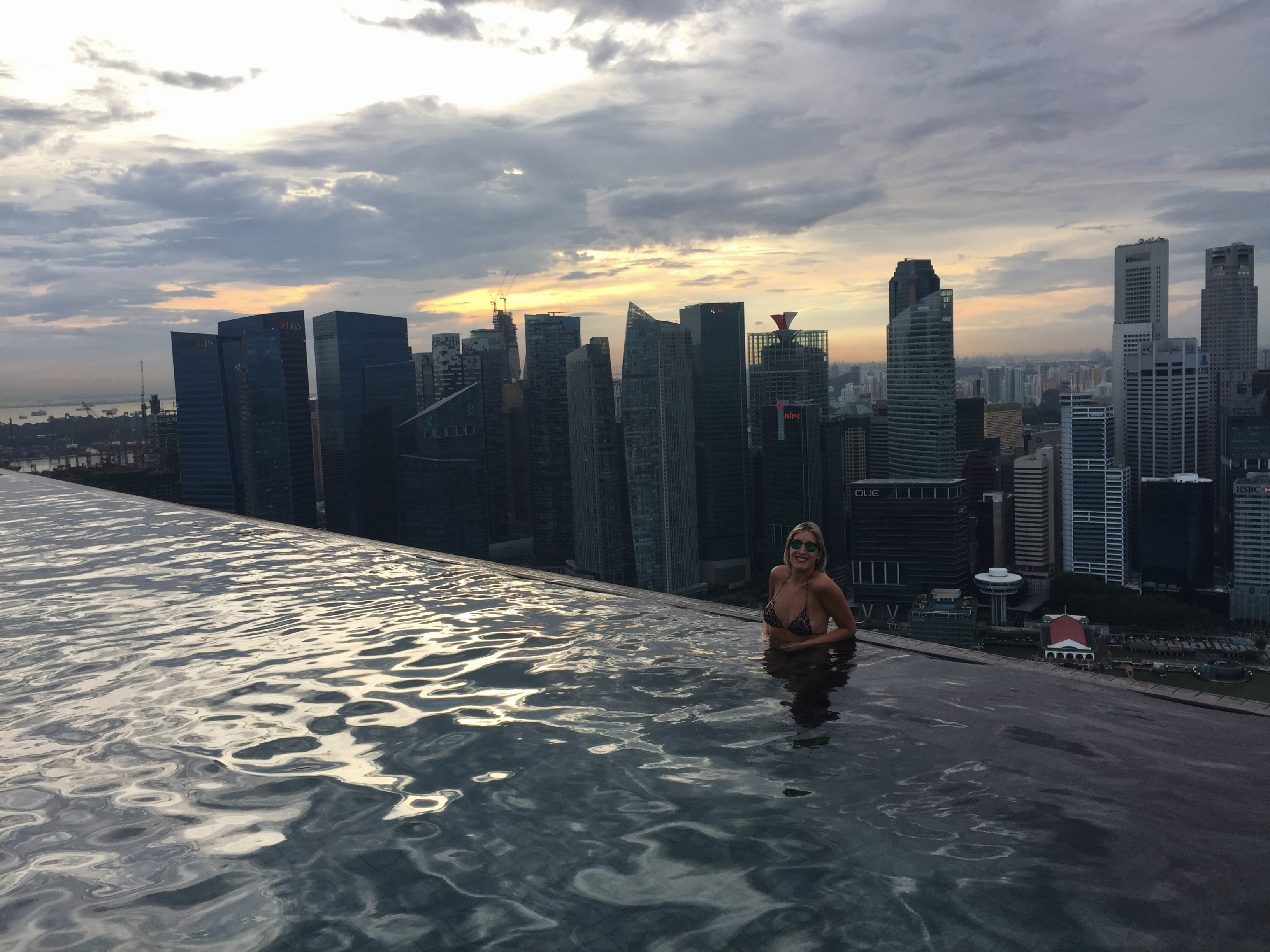 Marina bay sands pool / Piscina / Singapore Cingapura