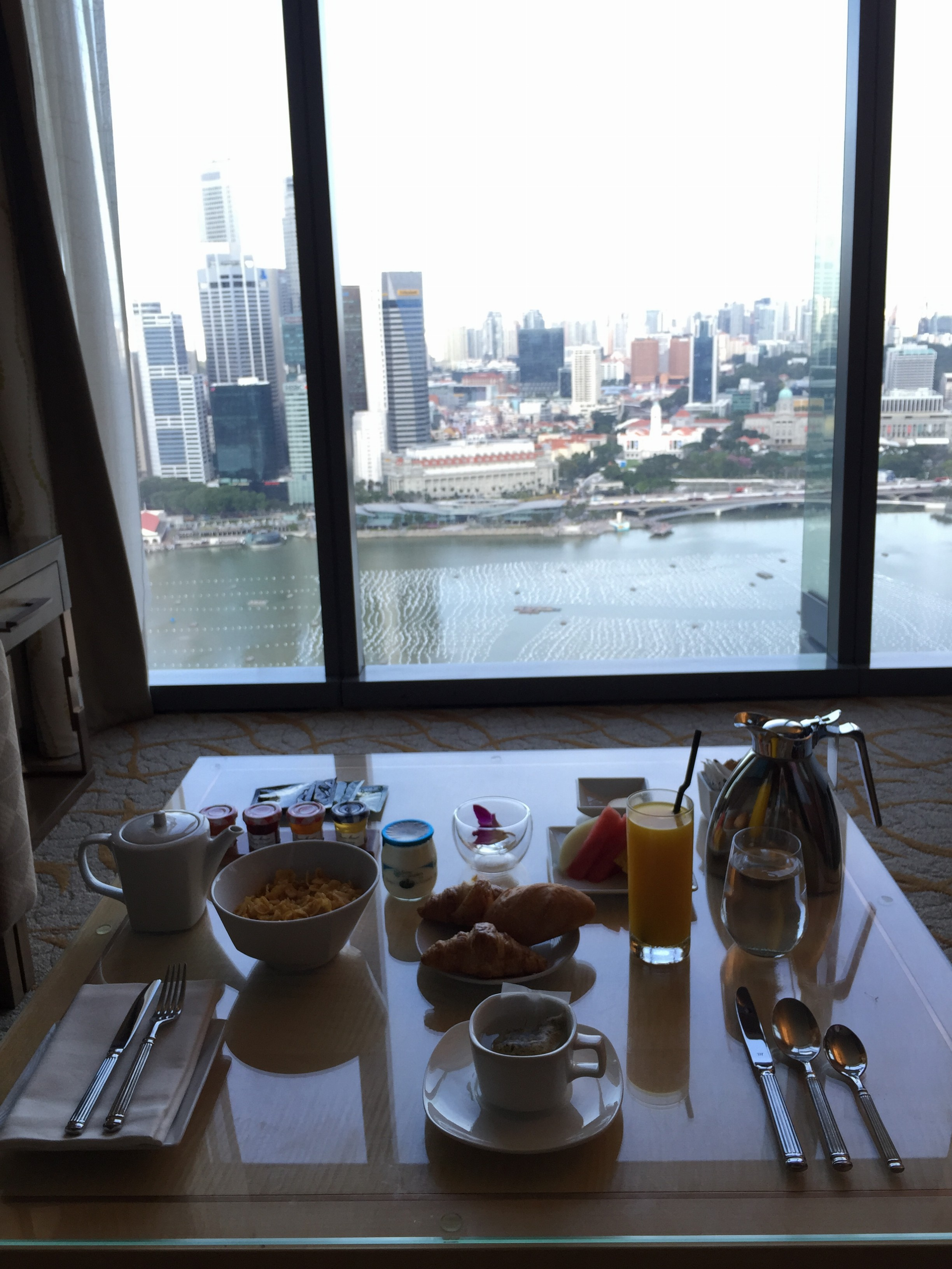 marina Bay Sands Singapore Breakfast