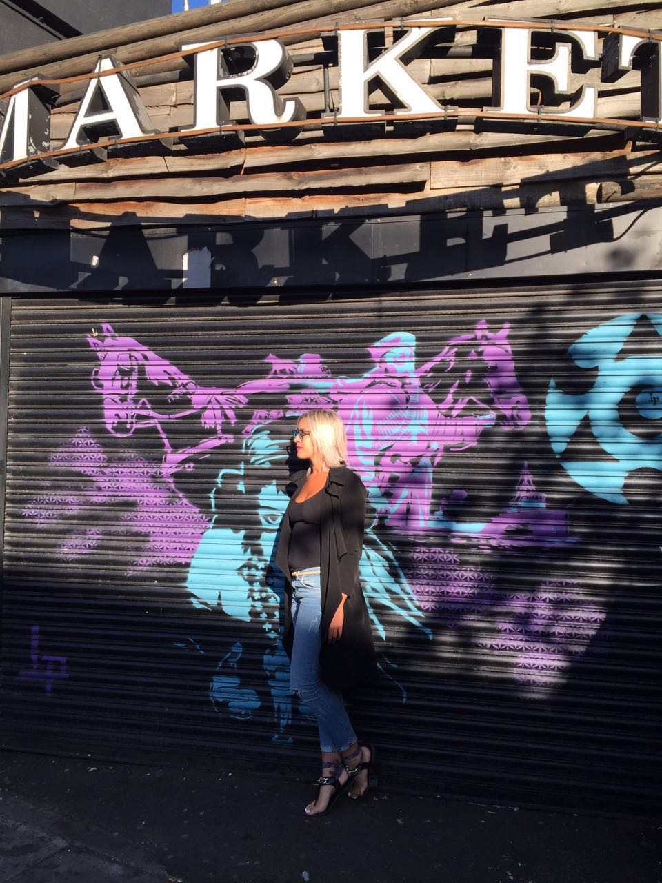 graffitti londres