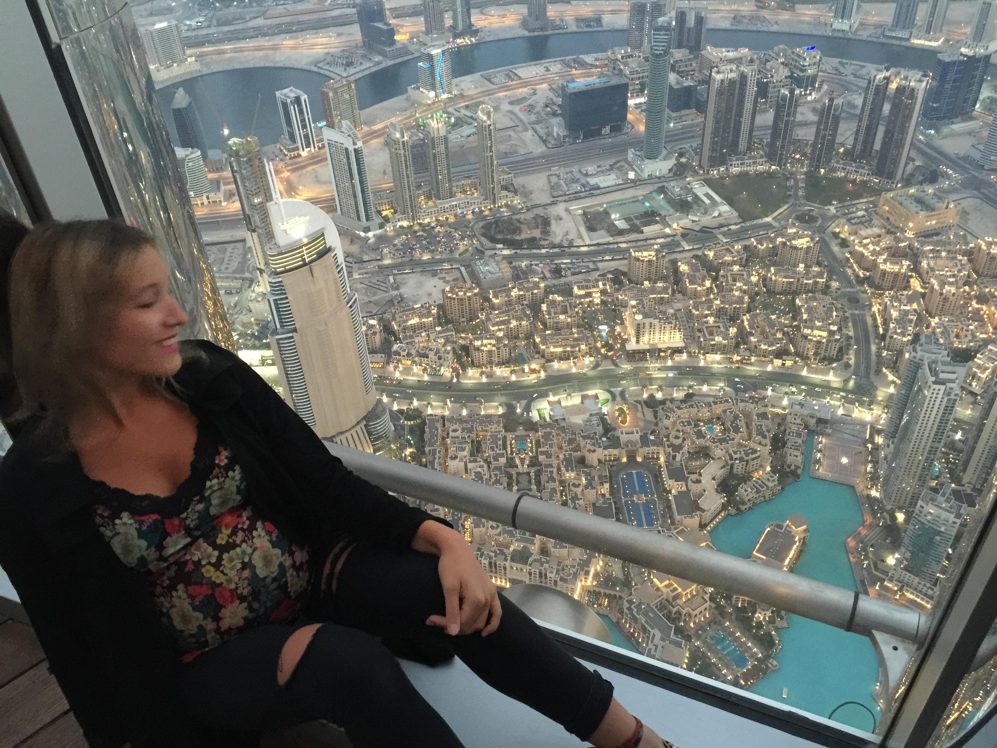 Vista da Burj Khalifa Dubai