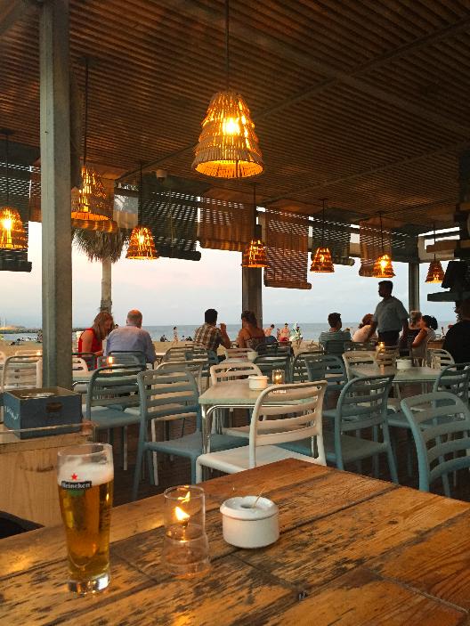 quiosque de praia Barcelona