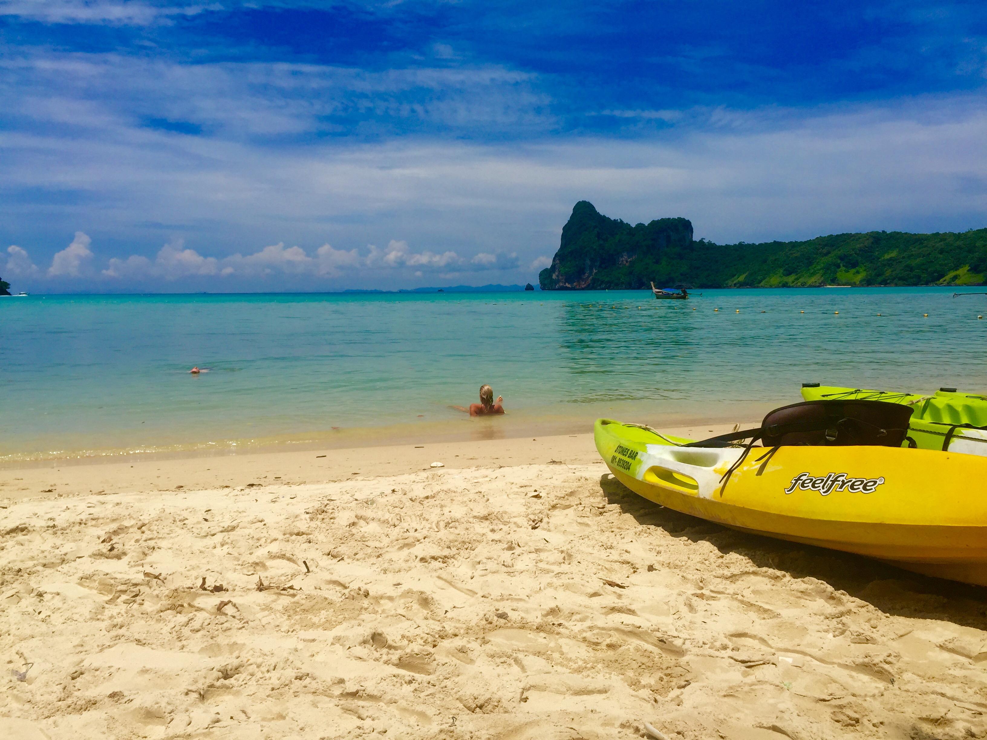 Caiaque Phi Phi Tailandia