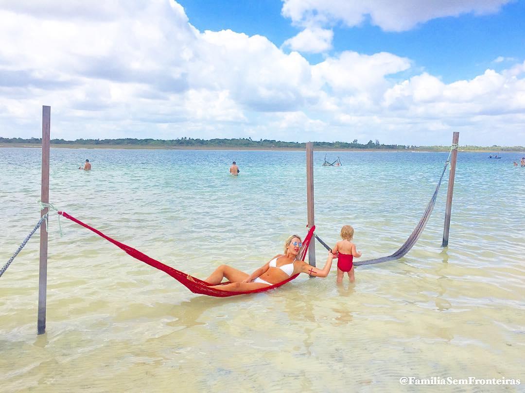 Lagoa Paraiso Jeri Brasil