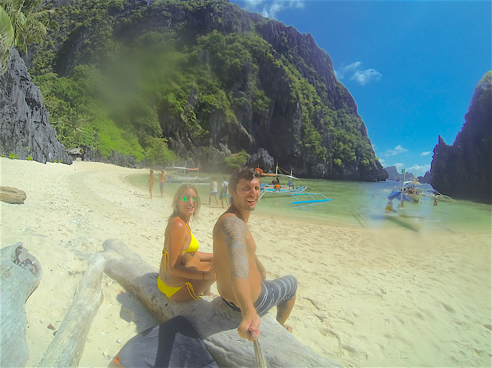 El nido beach Filipinas