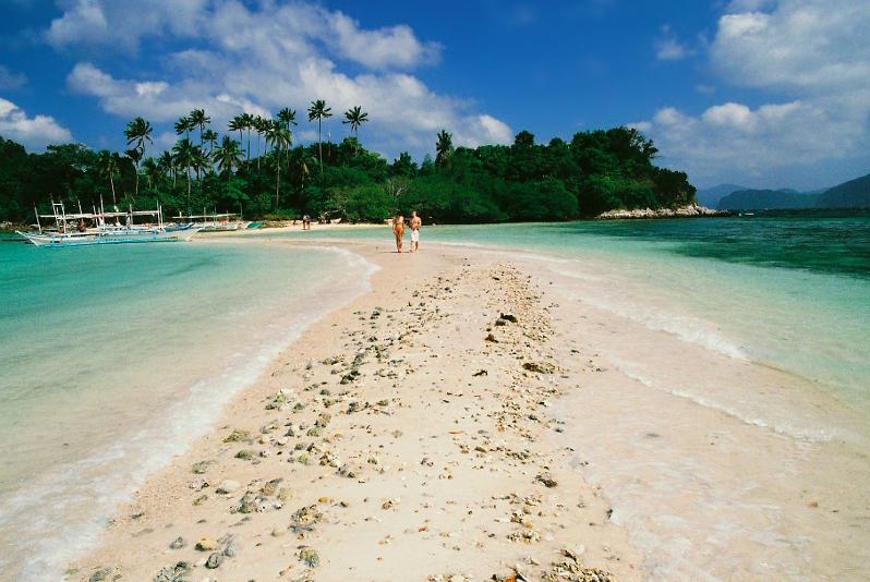 Snake island el nido filipinas