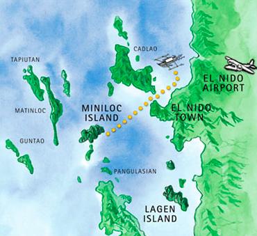 Ilhas El Ndio Hoteis