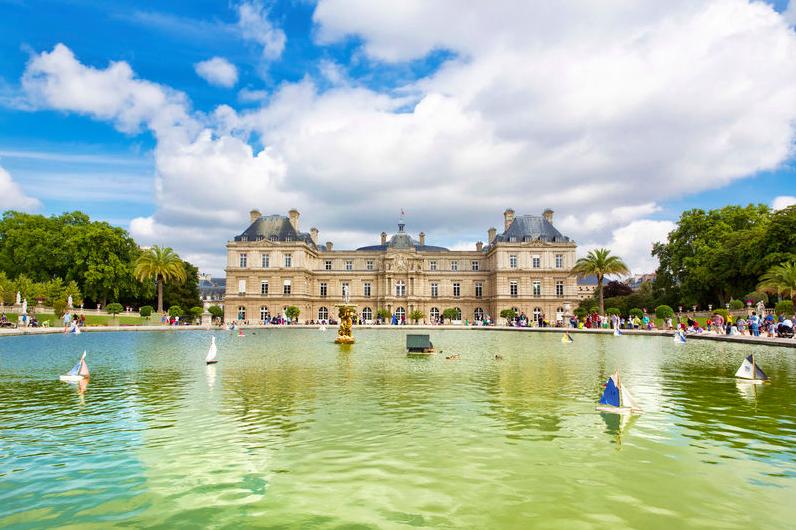 Jardim luxembourg Paris