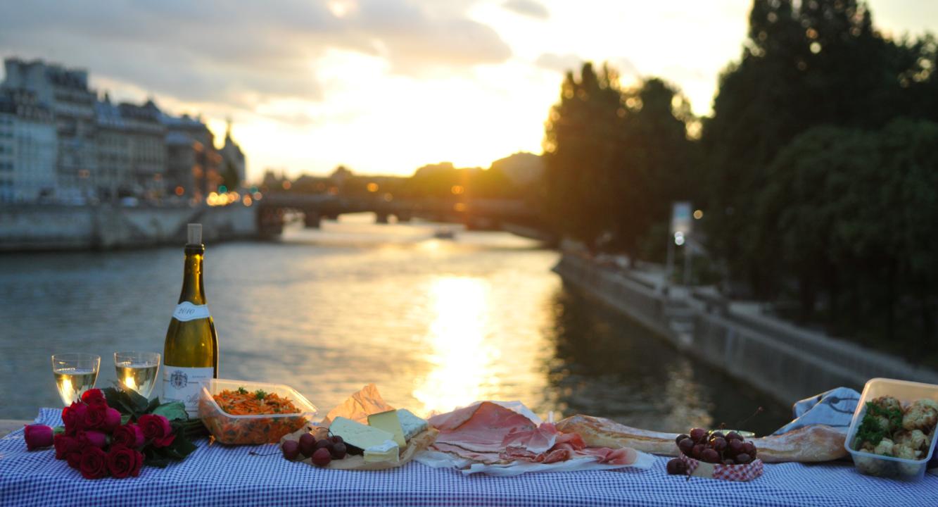 Pique nique rio Sena Paris