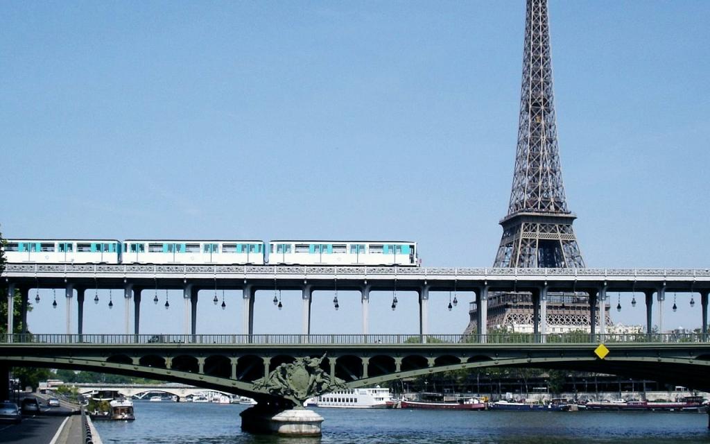 Paris Train Map