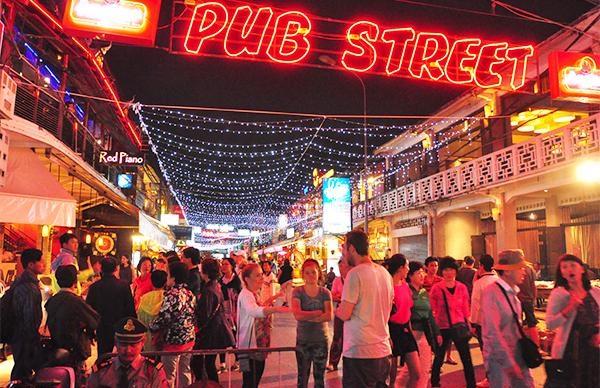 Pub Street Camboja