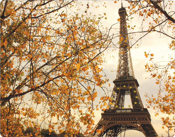 Paris Outono eiffel tower