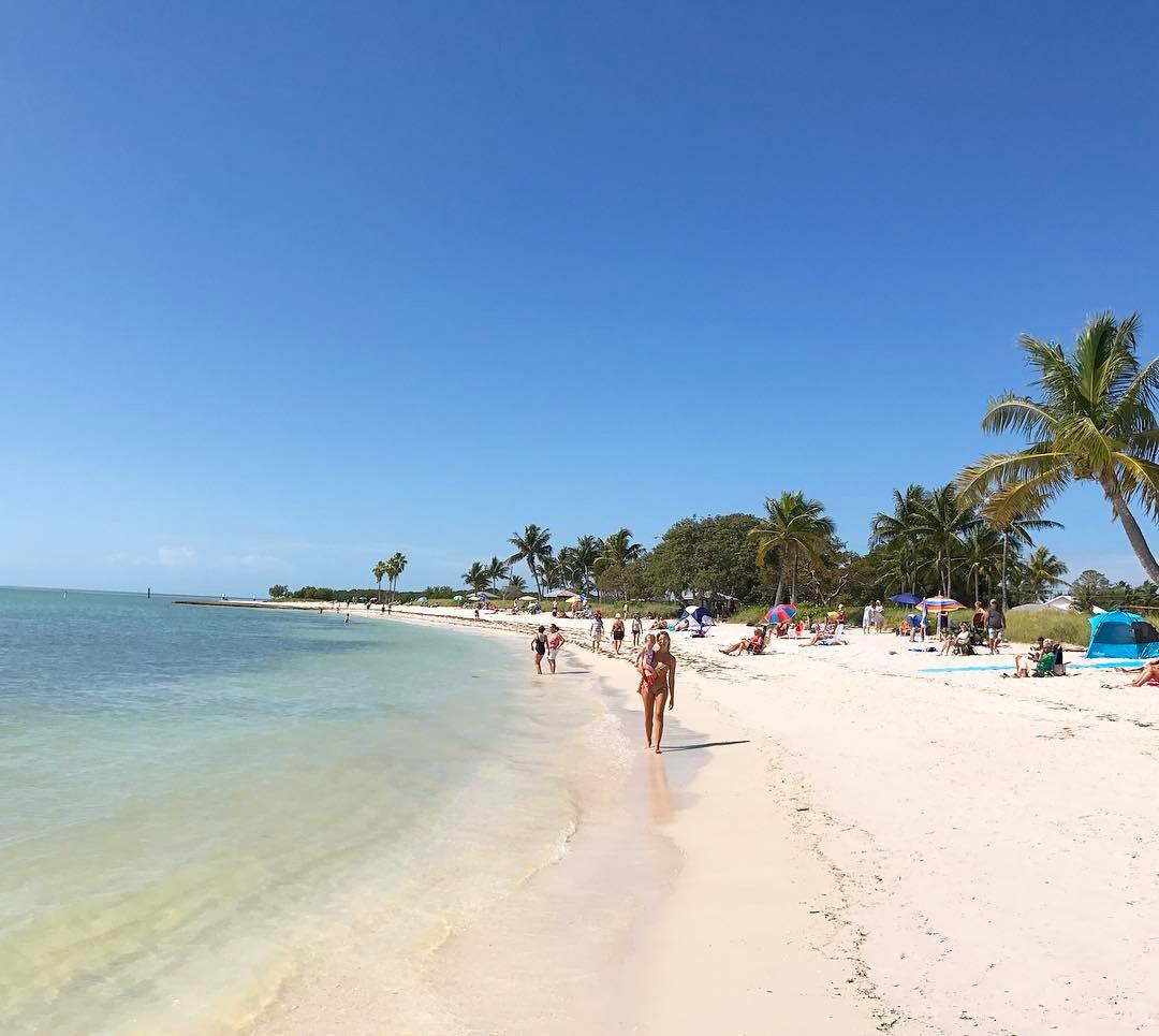 Sombrero Beach Marathon Key West - melhores praias florida keys