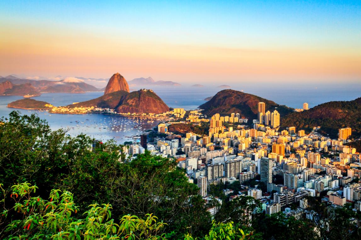 Mirante Dona Marta Rio de Janeiro Brasil