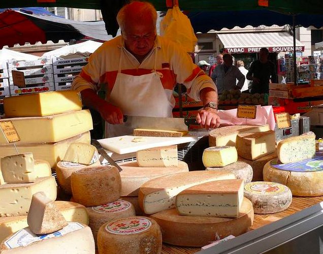 Fromager rue marché