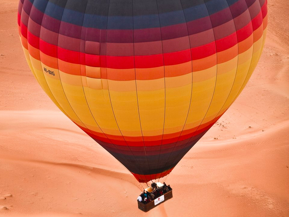 Balao Deserto Dubai Air hot balloon ride
