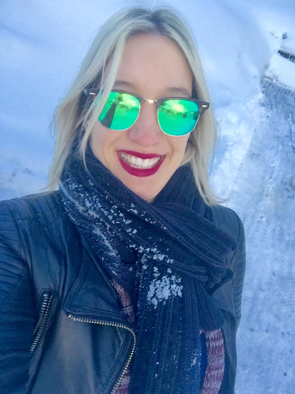 Dubai Noruega esqui Frio