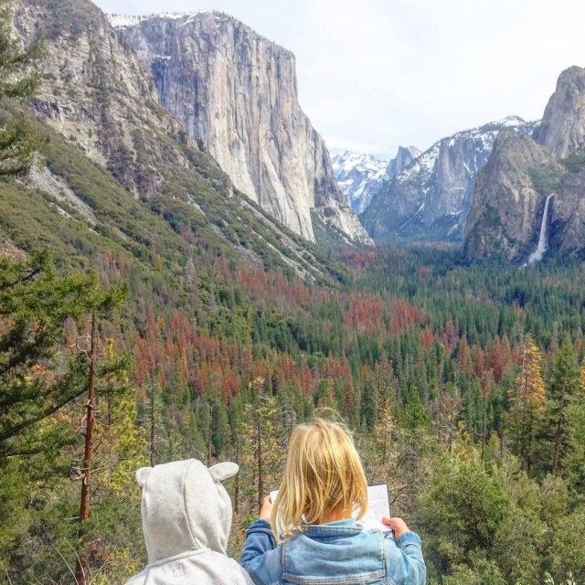Yosemite  USA Hoje  o grande dia  ahellip