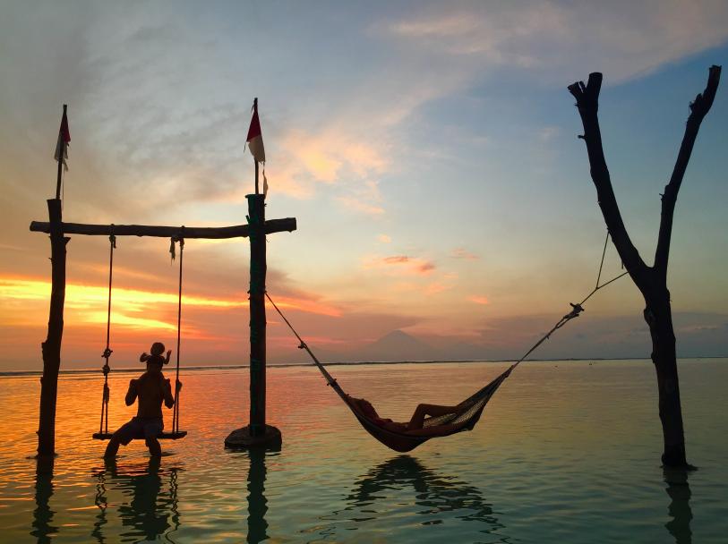 Gili island Bali Lombok