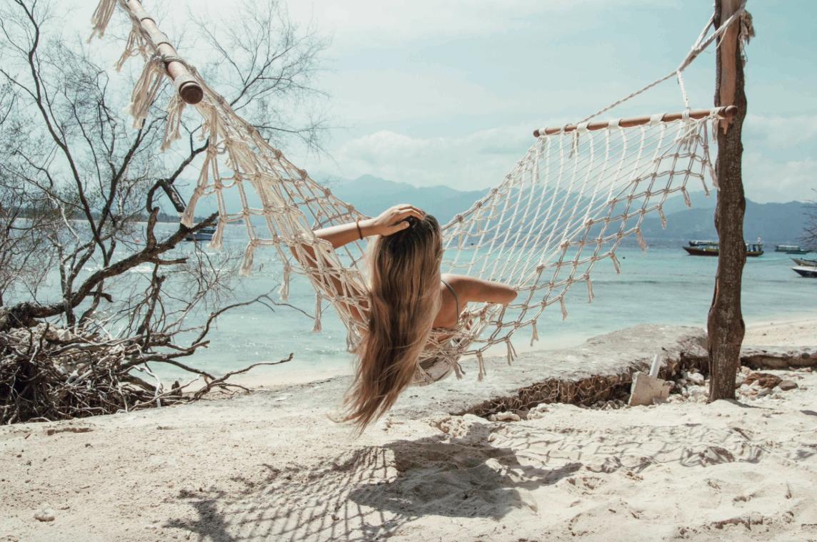 Relaxando Gili Meno Lombok Bali