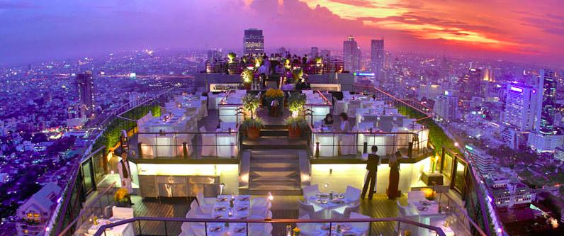 Banyan Tree Rooftop Bangkok Tailandia