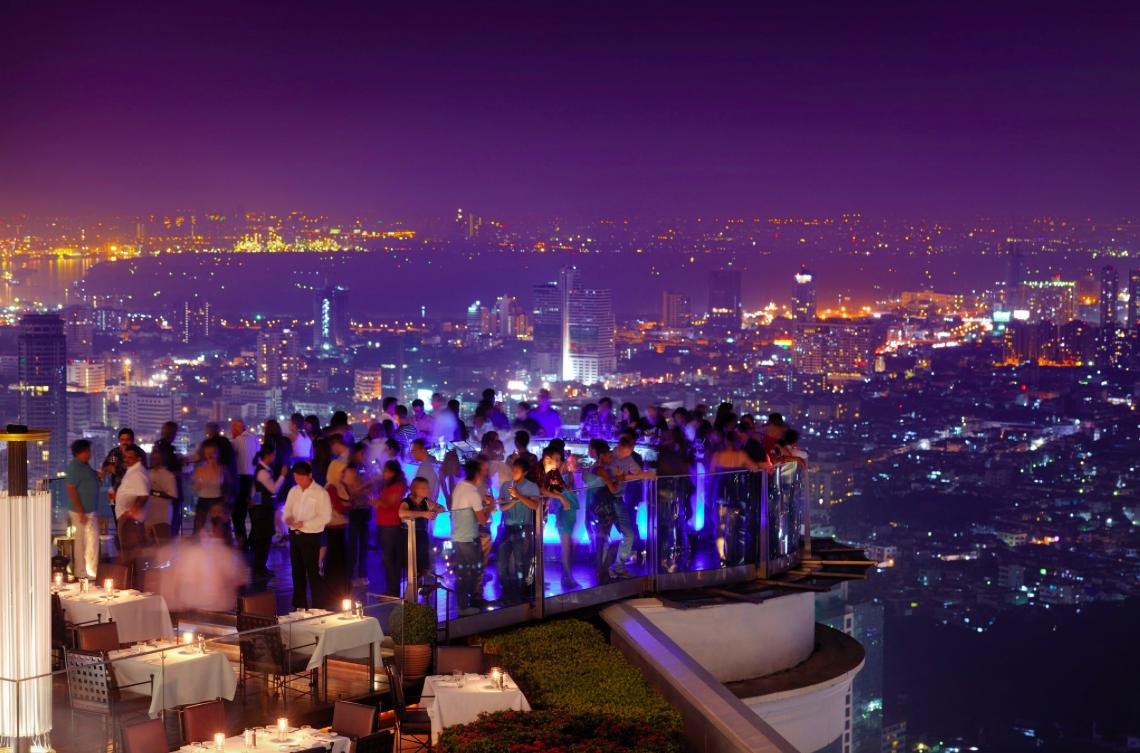 Tower Club Lebua Rooftop SkyBar Bangkok Tailandia
