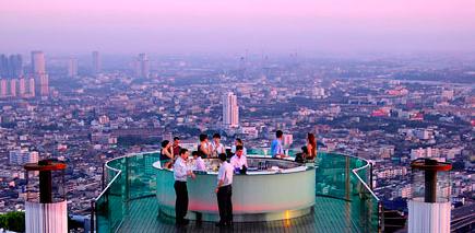 Bangkok Tailandia ROoftop Skybar
