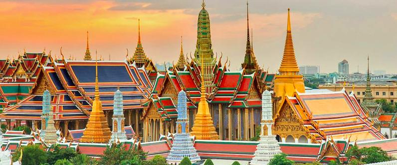 Grande Palacio Bangkok tailandia