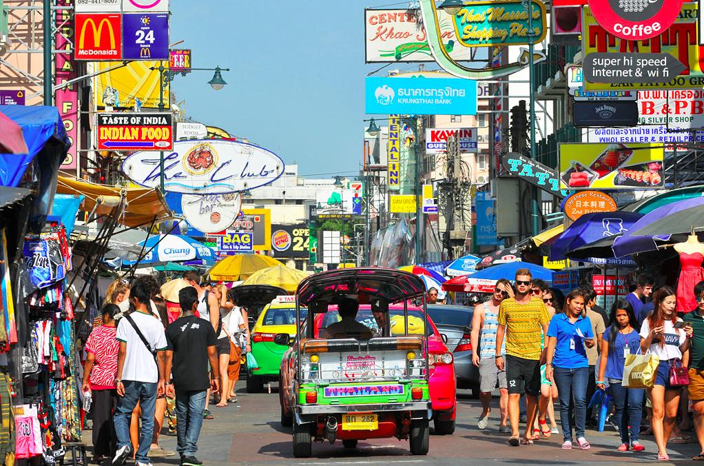 kho san road bangkok