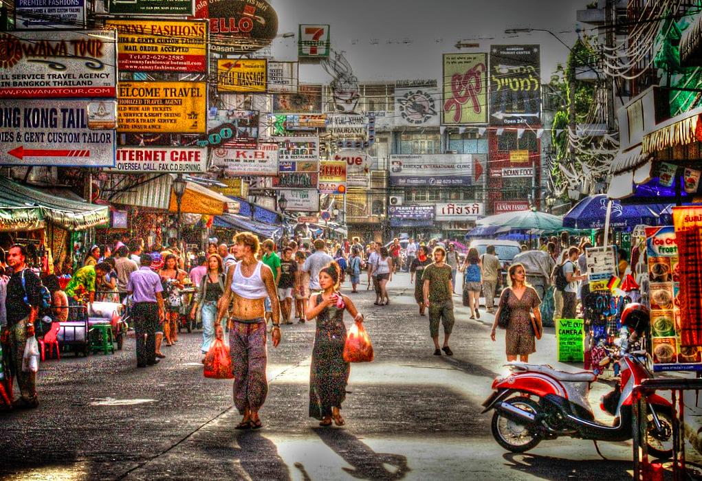 ko san road bangkok tailandia