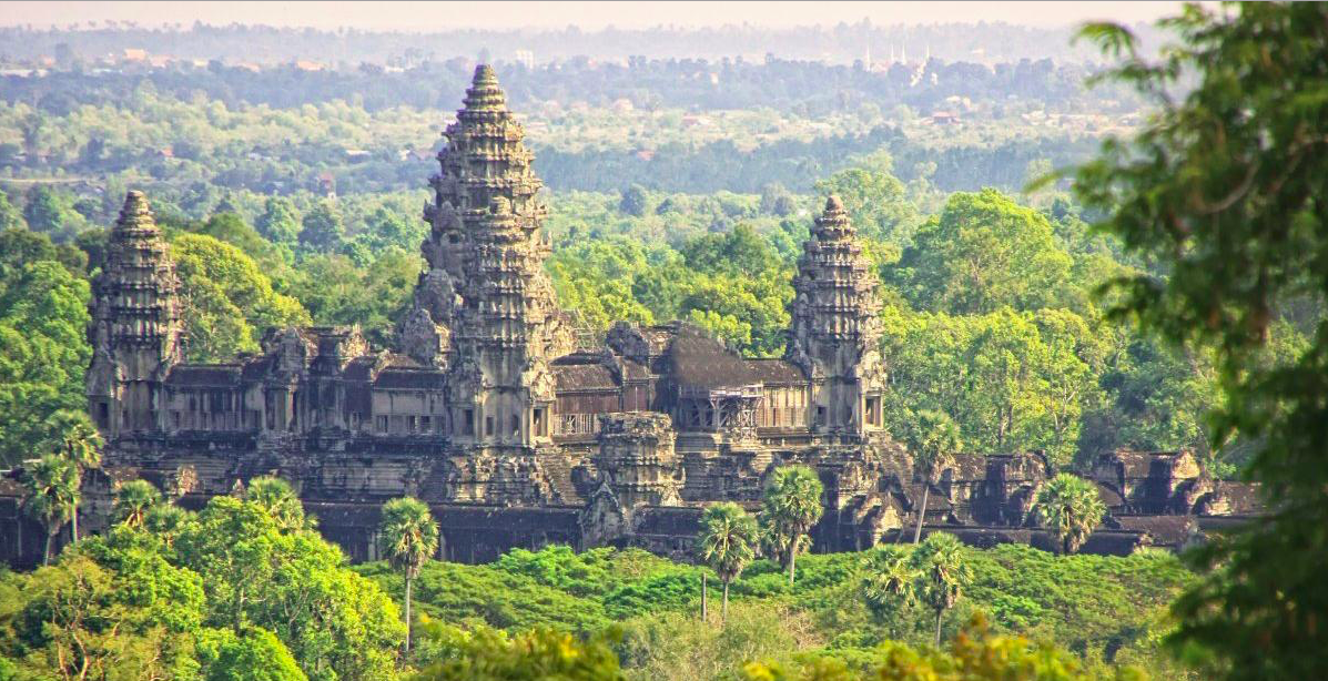 Angkor wat temple Cambodia