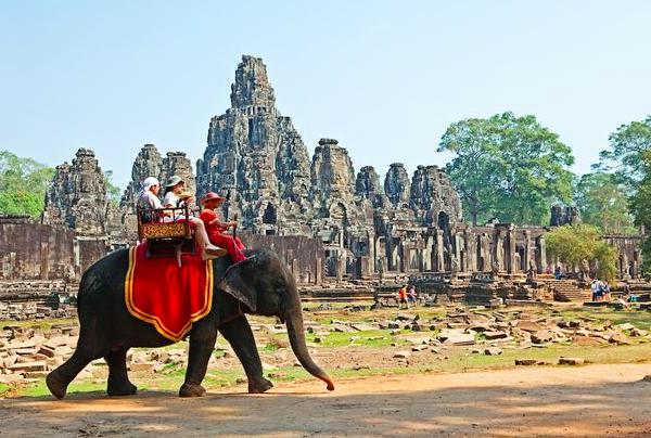 Angkor wat templos