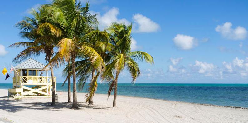 Crandon Park Praia Miami