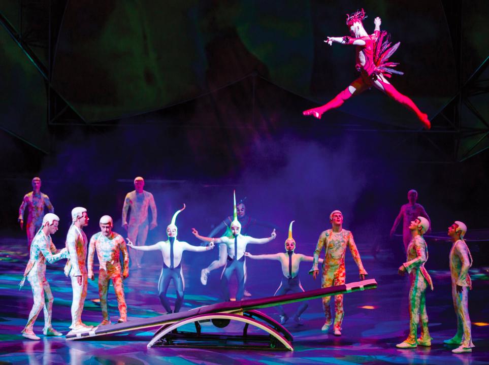 Cirque du soleil Show Mystère Las Vegas