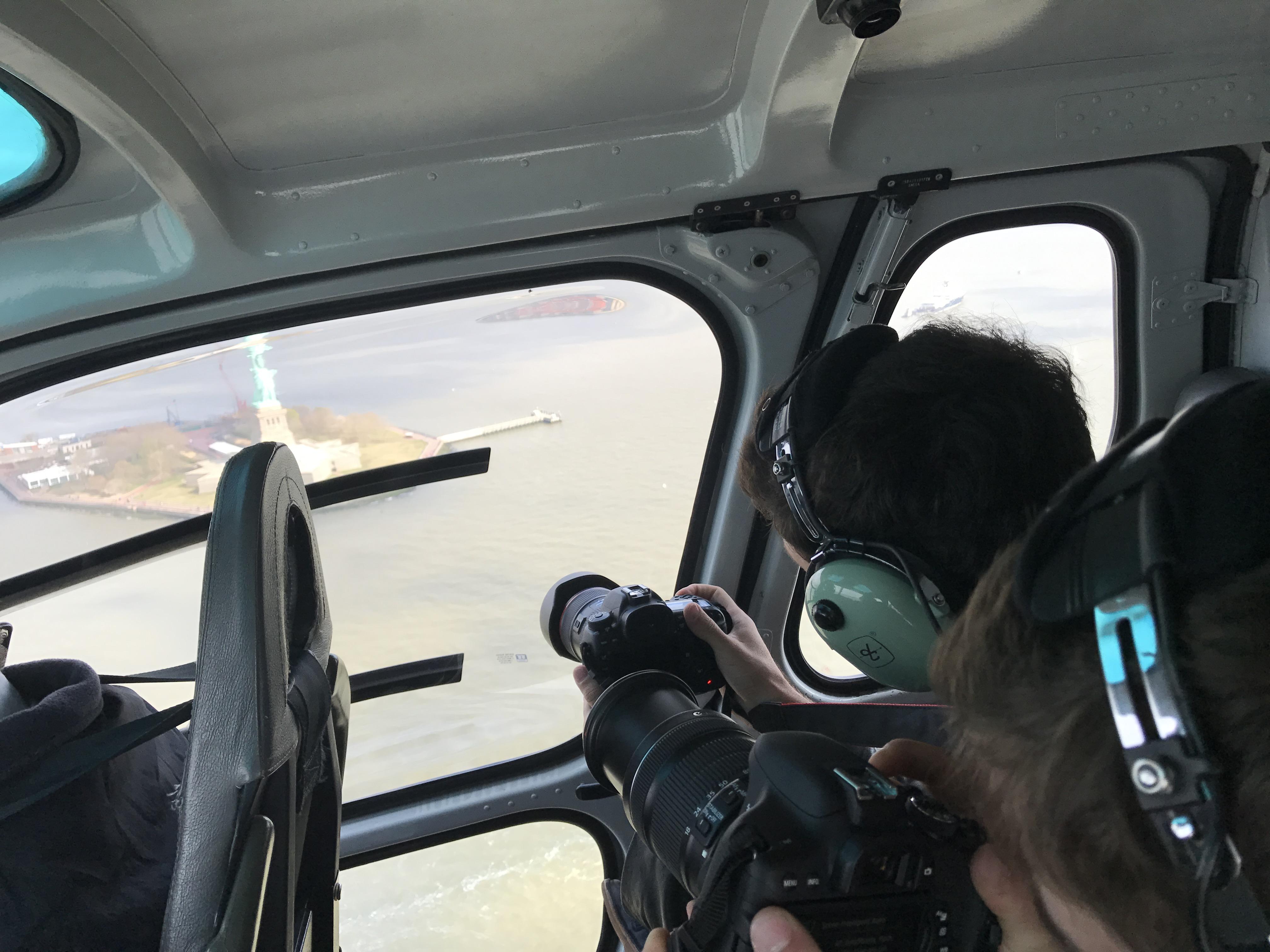 Helicóptero New York