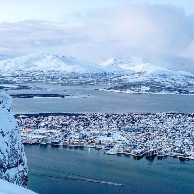 Tromso  Norway Tromso essa cidade do quase fim dohellip