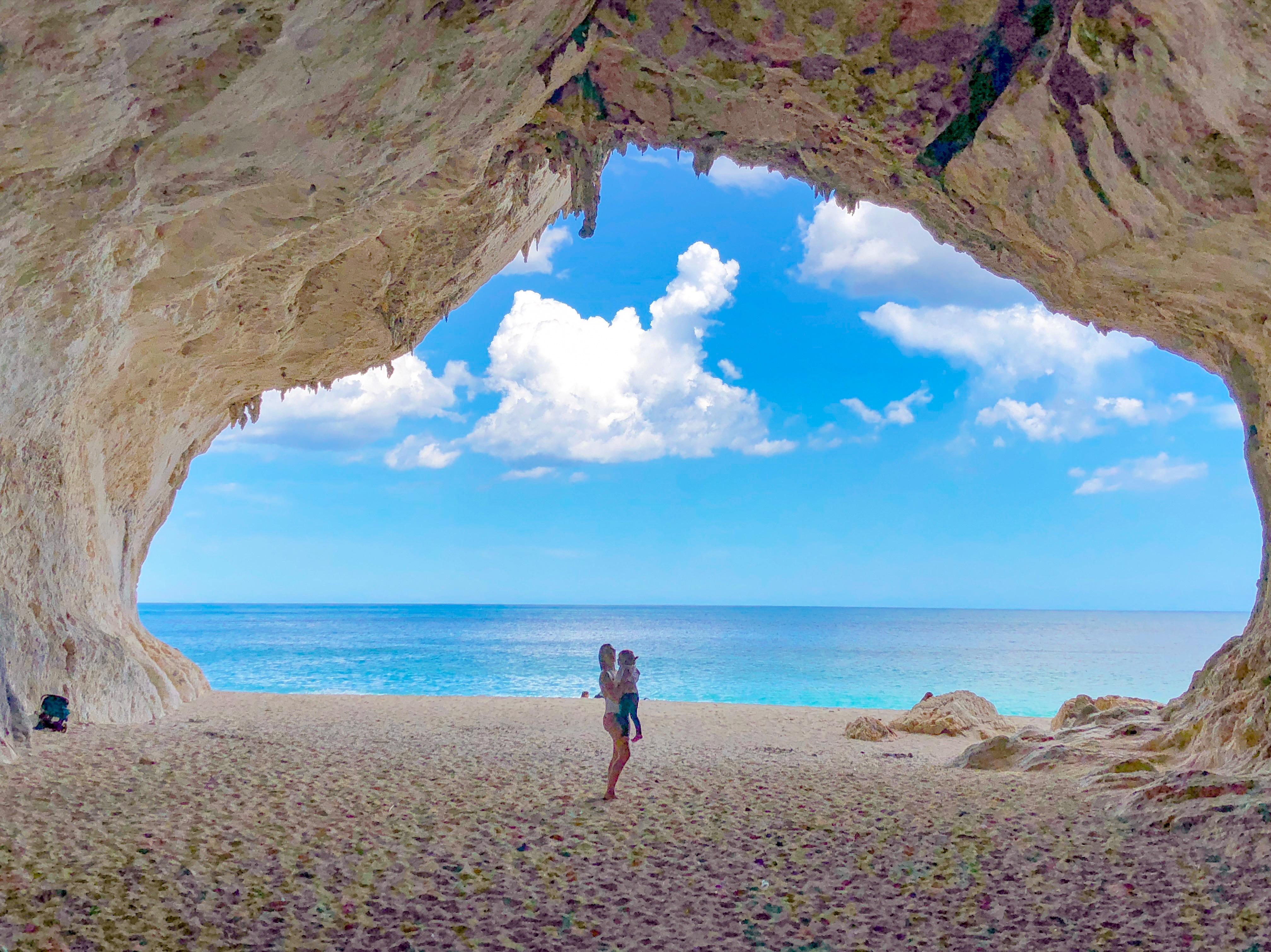 Cala Luna , ilha da Sardenha, Italia