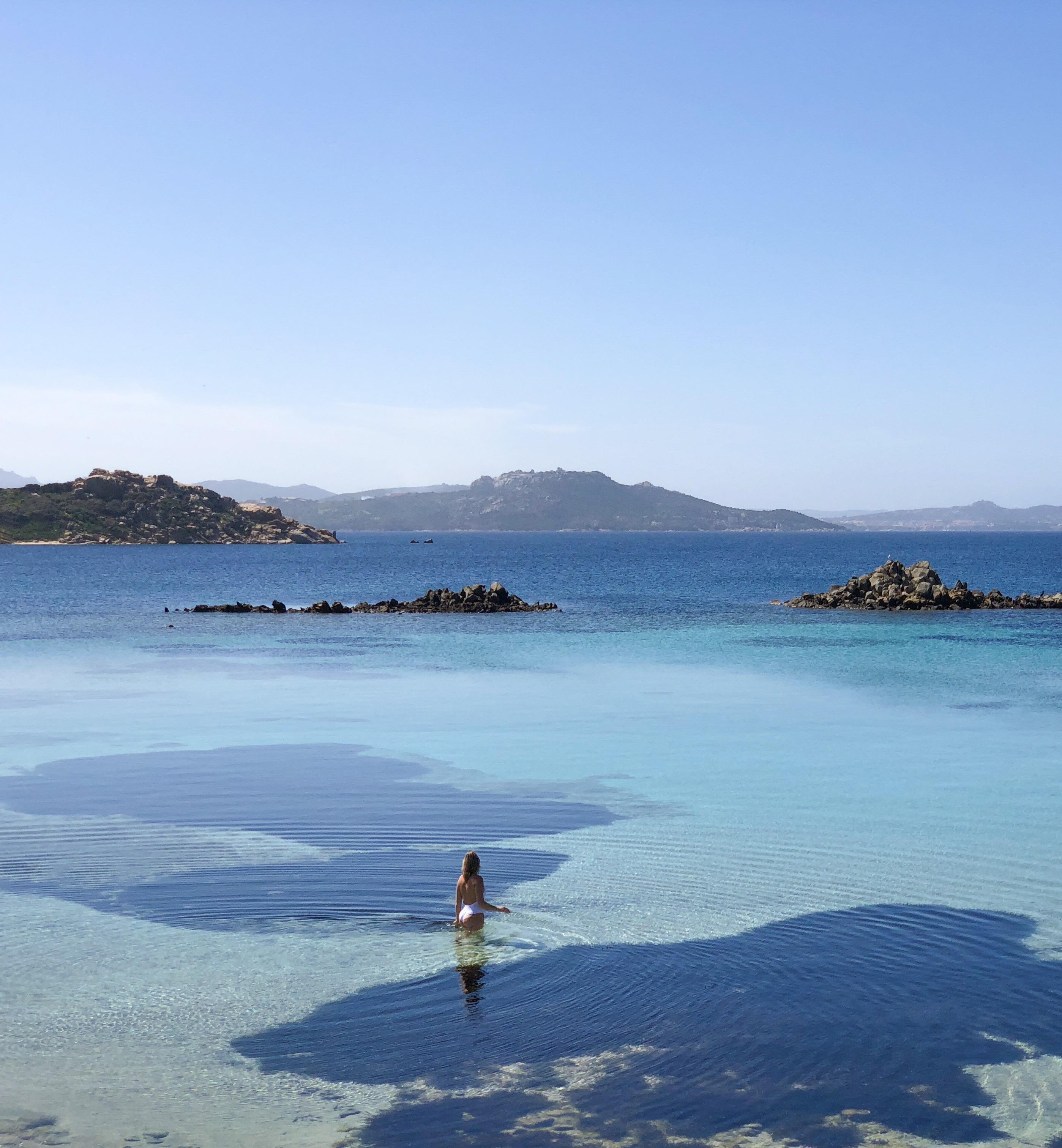 Praia ilha de la Maddalena