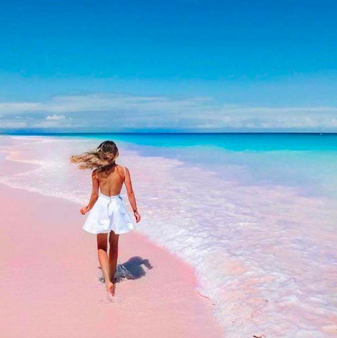 praia rosa Bahamas