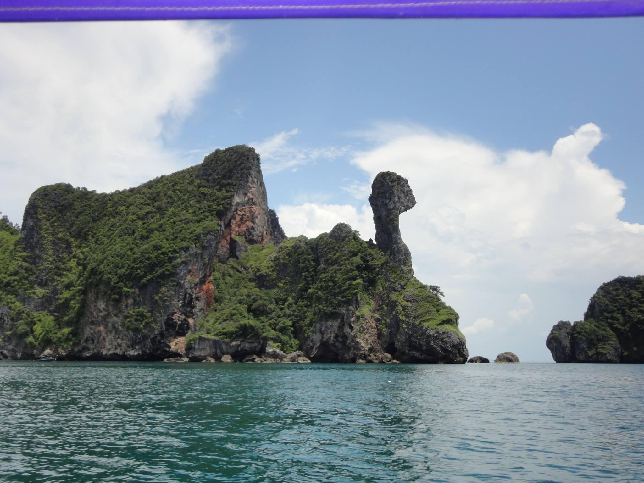 Chicken island, Krabi, Tailândia