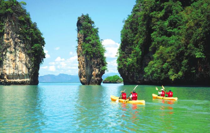Kayak, caiaque, Krabi Caiaque