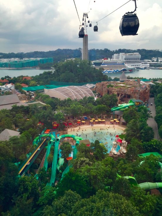 Ilha de Santosa Singapura