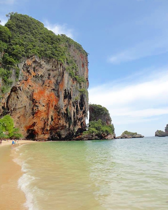 Railay Beach, Krabi, Tailândia