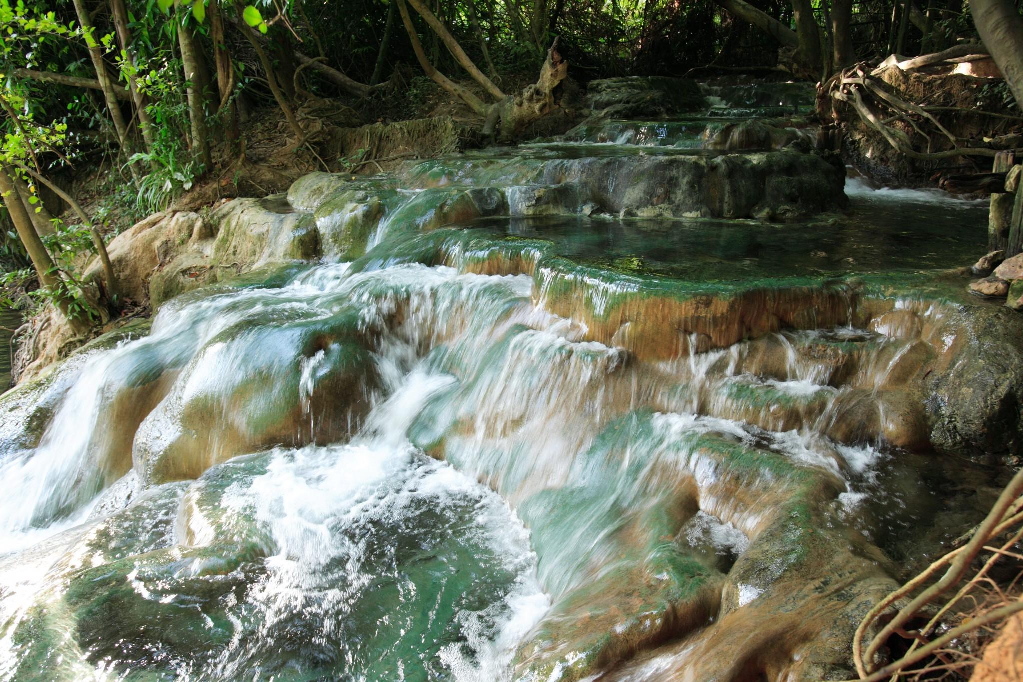Krabi, Krabi hot springs, hot springs, Tailândia