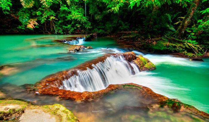 Krabi Hot springs, hot springs, Krabi, Tailândia