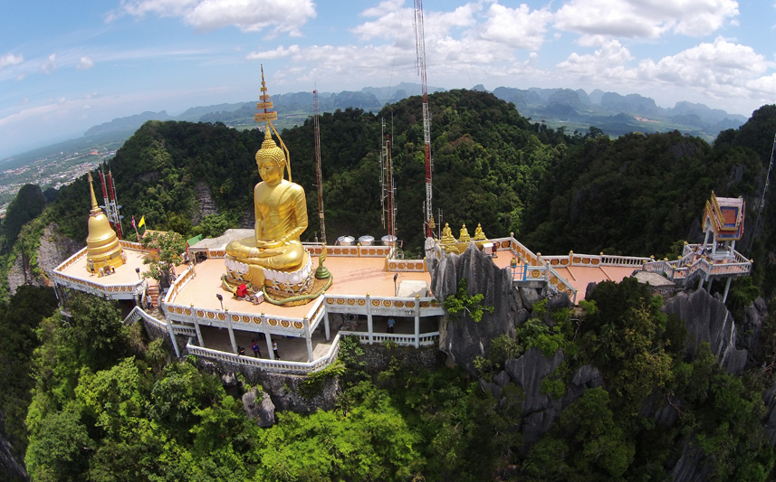 Tiger cave, Krabi, Tailândia, Wat Tham Sua