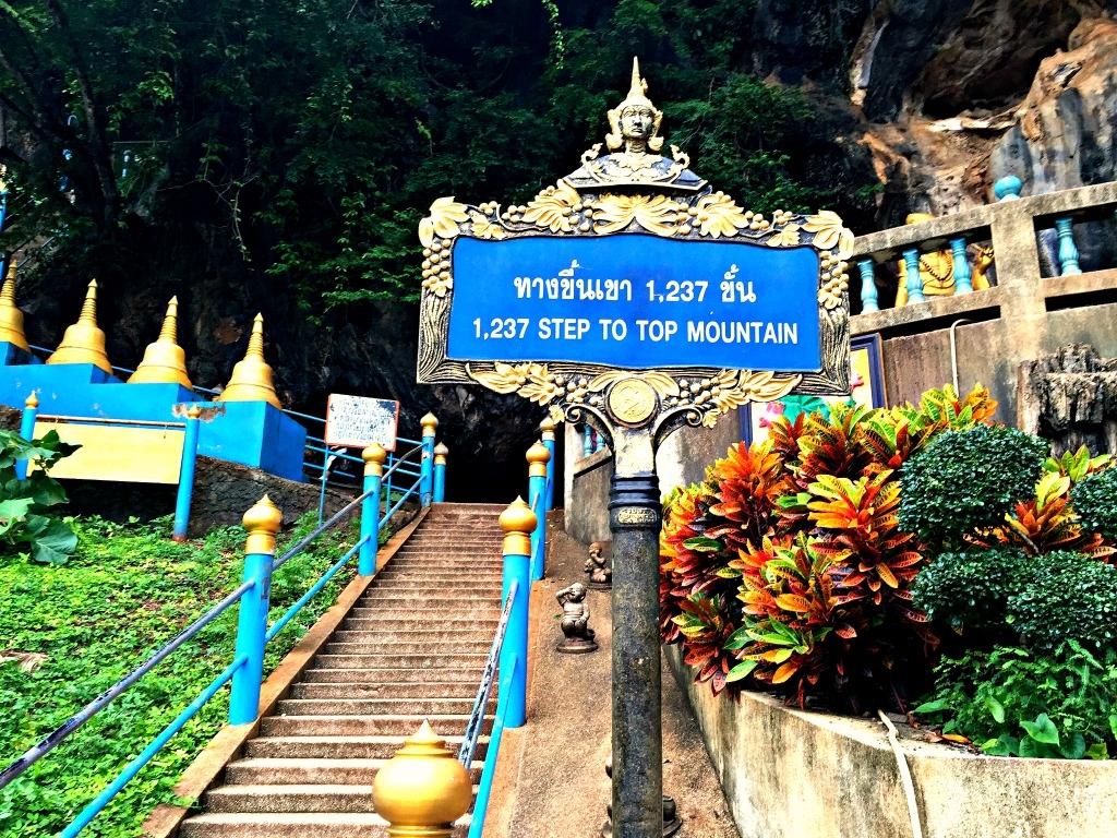 Tiger Cave, Wat Tham Sua, Krabi, Tailândia