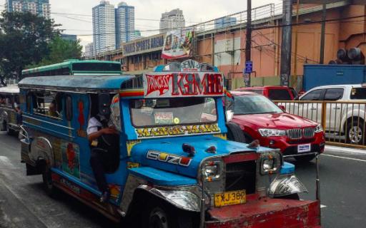 Manila, capital e porta de entrada das Filipinas