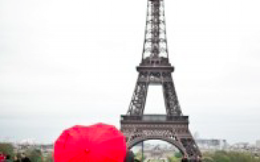 Fuga romântica em Paris